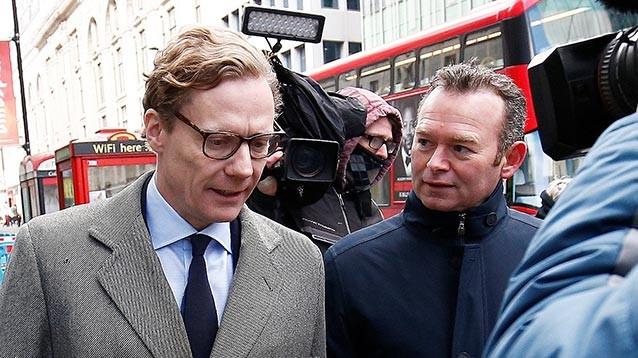 Главу Cambridge Analytica отстранили на фоне скандала с вмешательством в выборы