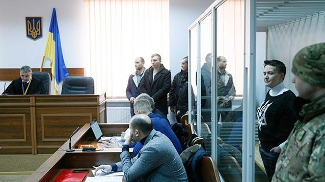 Суд в Киеве арестовал Надежду Савченко без права на залог