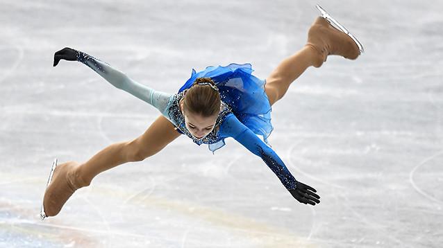 Российская фигуристка впервые в истории исполнила четверной тулуп (ВИДЕО)