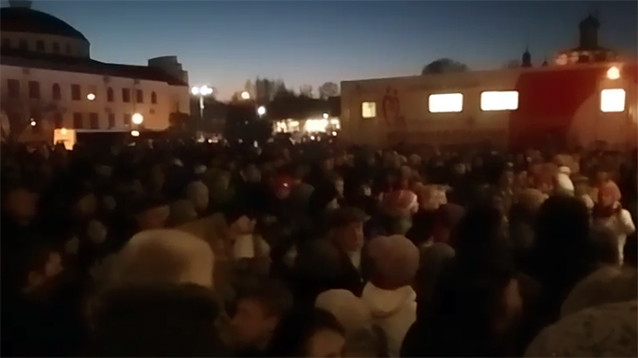 "Власти Волоколамского района обещают ввести режим ЧС из-за ситуации с полигоном ""Ядрово"""