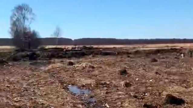 На месте крушения Ан-148 спустя два месяца после катастрофы все еще лежат останки тел