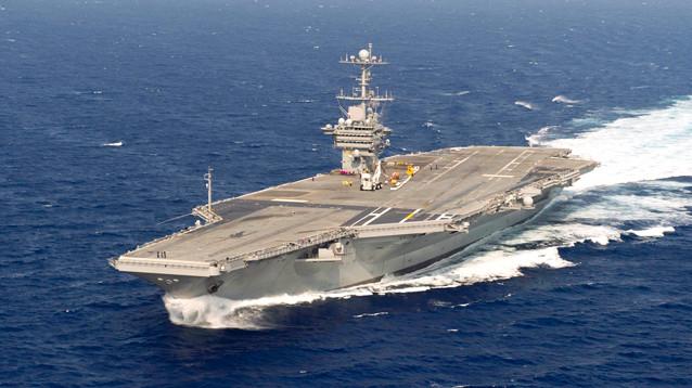 США отправляют ударную группу кораблей на Ближний Восток