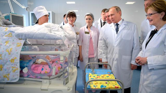 Bloomberg: Путин повысит на 10 трлн рублей расходы на медицину, образование и инфраструктуру