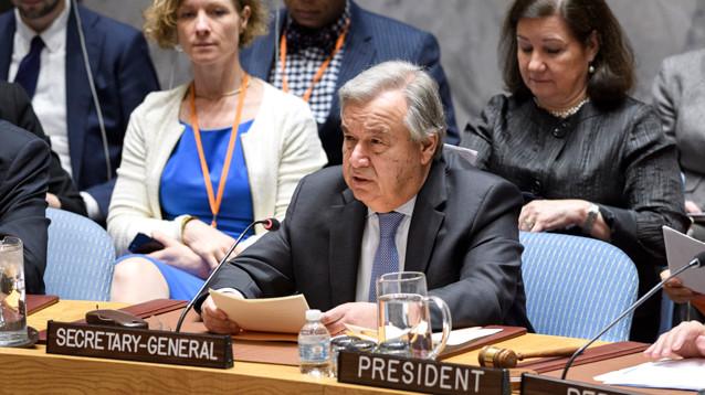 Генсек ООН объявил о возвращении времен холодной войны