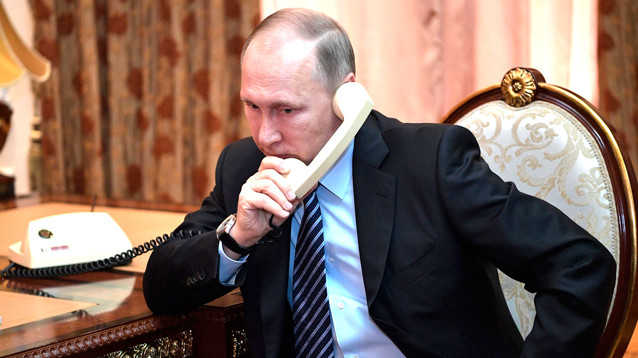 """Путин заявил, что новая атака США на Сирию обернется """"хаосом"""""""