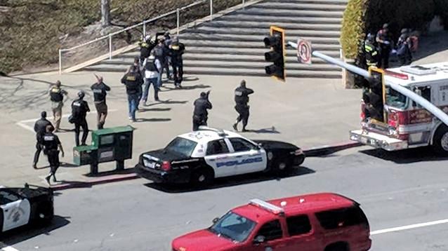 На территории штаб-квартиры YouTube произошла стрельба