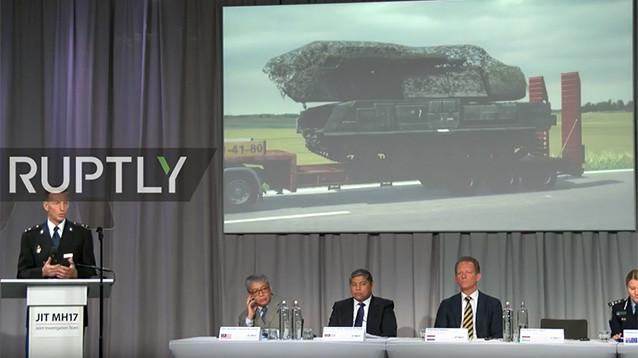 """Международная следственная группа: """"Бук"""", из которого сбили Boeing, прибыл из Курска"""