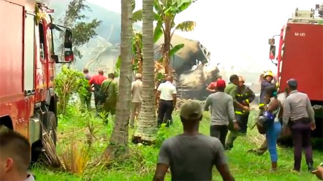 Катастрофа  Boeing в Гаване: есть  выжившие