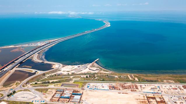 Киев оценил убытки Украины от строительства Крымского моста