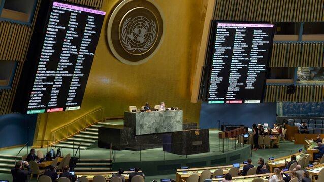 Генассамблея ООН приняла резолюцию по выводу  российских миротворцев   из Приднестровья