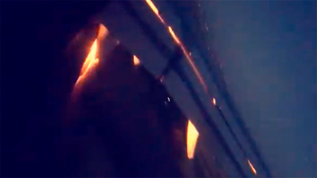 Самолет с футболистами Саудовской Аравии загорелся по пути в Ростов-на-Дону (ВИДЕО)