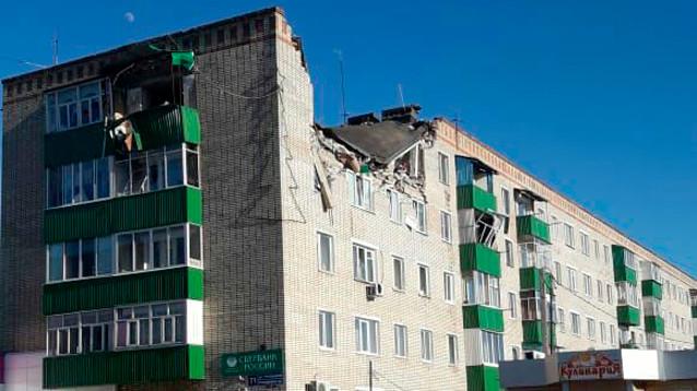 В жилом доме города Заинск в Татарстане  взорвался  газ,  есть погибший и тяжелораненые