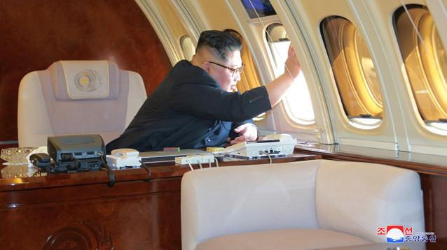 Китай может направить истребители для эскорта Ким Чен Ына на пути в Сингапур