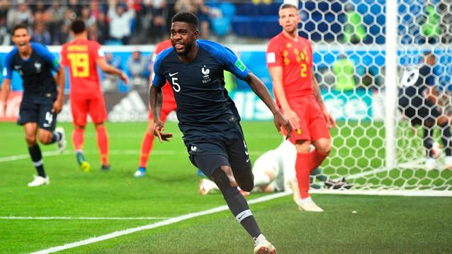 Франция стала первым финалистом ЧМ-2018