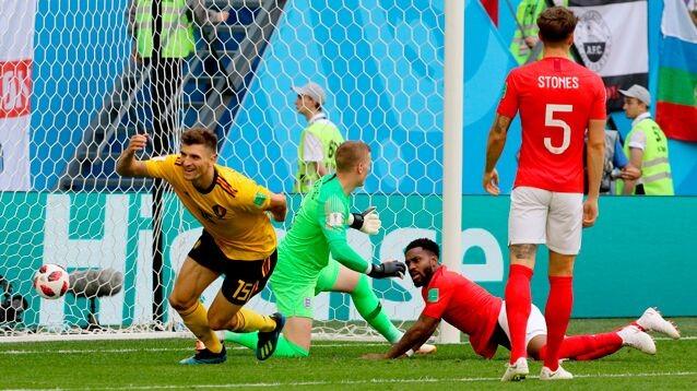 Бельгия всухую обыграла Англию в матче за бронзу ЧМ-2018
