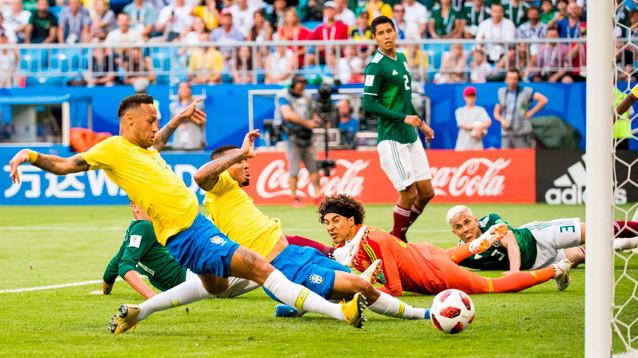 ЧМ-2018: Бразилия вышла в четвертьфинал, Мексика - за бортом