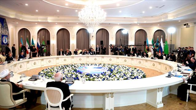 В Актау подписана Конвенция о правовом статусе Каспийского моря