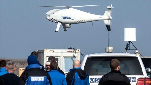Франция и Германия обвинили РФ в атаке на беспилотник ОБСЕ в небе Украины