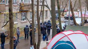 В Москве задержаны 7 человек, выступающих против точечной застройки в Кунцево