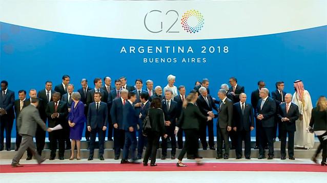 Путин и Трамп не поприветствовали друг друга перед саммитом G20