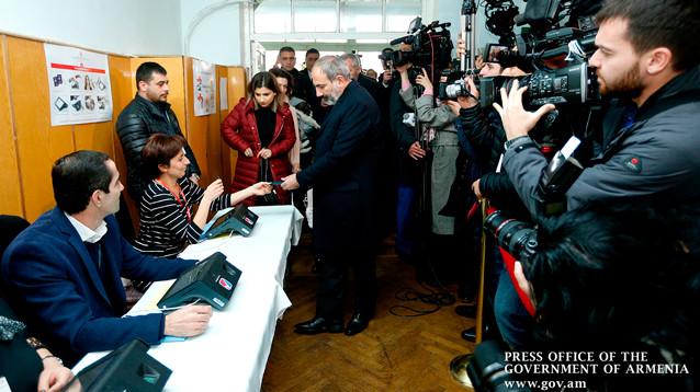 В Армении опубликованы окончательные результаты выборов