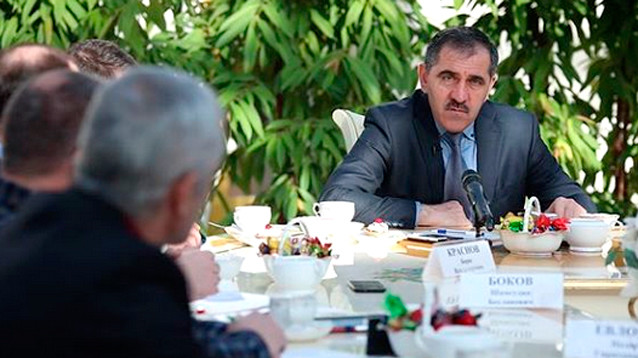 """Евкуров признал: во время инцидента с полицейскими в Назрани убили """"хорошего парня"""""""