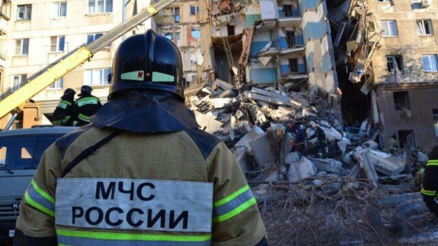 Число погибших при обрушении дома в Магнитогорске возросло до девяти