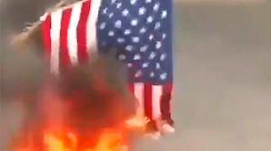 Протестующие гаитяне воздали хвалу Путину и сожгли флаг США (ФОТО, ВИДЕО)