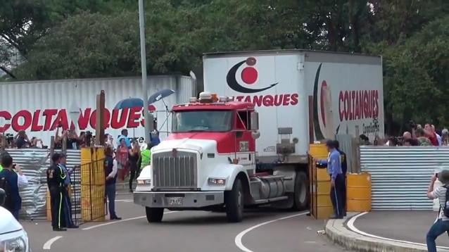 Госдеп США объявил о доставке в  Колумбию первой партии гумпомощи для Венесуэлы