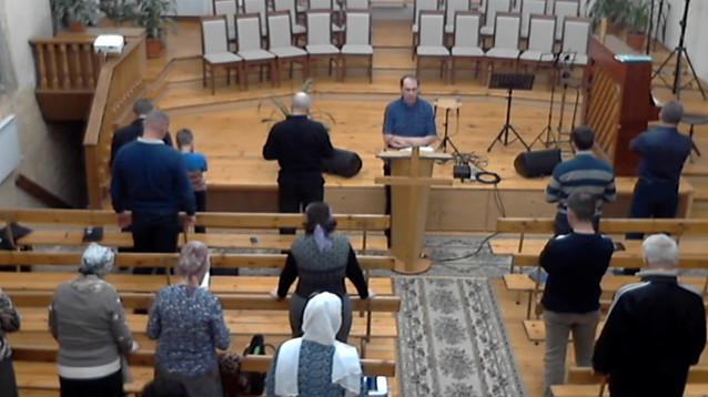 В Новороссийске ФСБ, защищая духовные скрепы РФ, сорвала богослужение баптистов