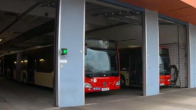 Австрийский город остался без автобусов из-за кори