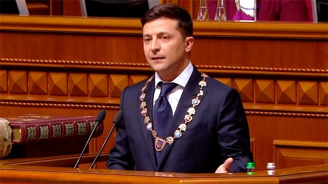 Владимир Зеленский вступил в должность президента Украины и сорвал овации инаугурационной речью (ТЕКСТ, ФОТО, ВИДЕО)