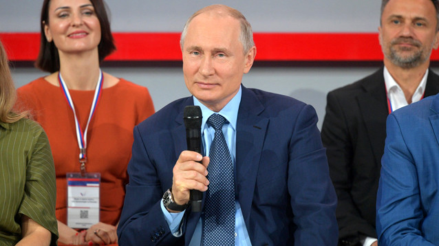 Путин предложил провести опрос о храме в Екатеринбурге. Стройку остановили