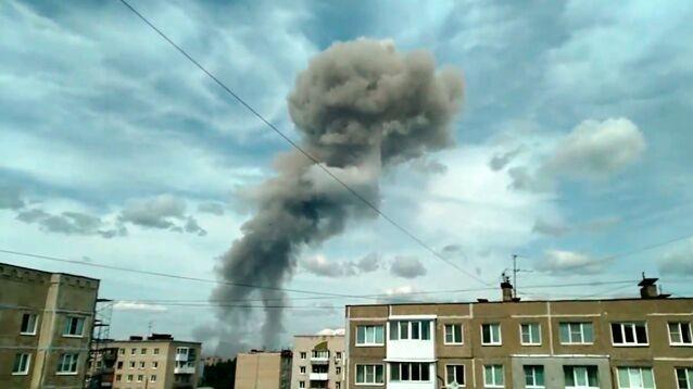 ЧП на заводе в Дзержинске: в цехе по производству тротила прогремели взрывы, много пострадавших (ФОТО, ВИДЕО)