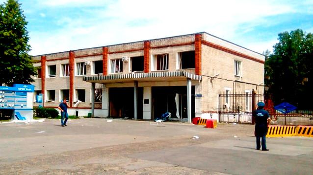В Дзержинске завершили аварийно-спасательные работы после серии взрывов на заводе взрывчатки