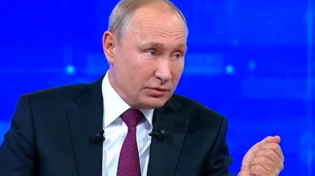 """17-я """"Прямая линия"""": россияне замерли в ожидании """"позитива"""" и неожиданных заявлений Путина для поднятия рейтинга"""