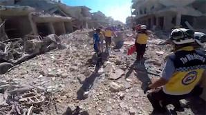 РФ обвинили в обстреле рынка и смерти около 40 человек в сирийском Идлибе