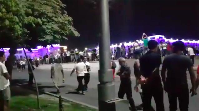 В Бишкеке разогнали сторонников Атамбаева, собравшихся на центральной площади