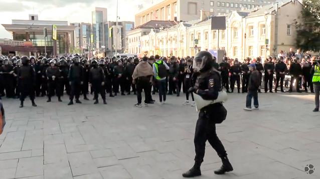 Акция протеста завершилась, так и не начавшись. Всех 700 задержанных допрашивают по делу о массовых беспорядках