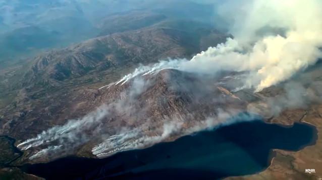 Экологическая катастрофа в Арктике: Гренландия горит, ледники сбросили в океан 197 млрд т. воды (ВИДЕО)
