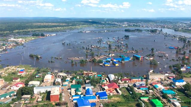 В Приангарье вода уходит, но ухудшение паводковой ситуации возможно на Дальнем Востоке