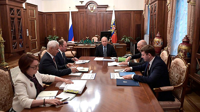 Путин обеспокоился медленным ростом доходов россиян