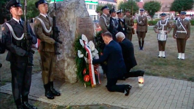 В Польше отдают дань памяти жертвам Второй мировой войны