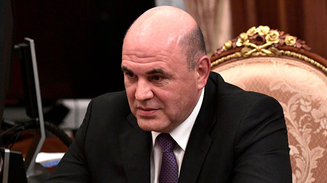 Путин внес кандидатуру главы ФНС Мишустина на должность председателя правительства