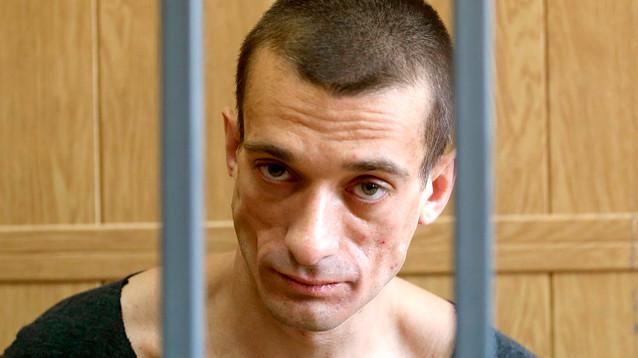 Павленский рассказал, где взял видеокомпромат на Гриво