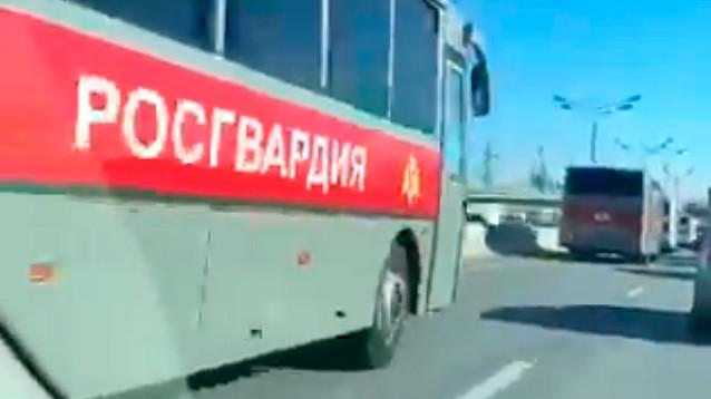 В МВД и Росгвардии опровергли сообщения о вводе войск в Москву и комендантском часе