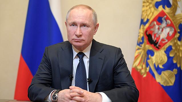 Путин объявил каникулы на неделю, мораторий на налоги и штрафы, перенес голосование, пообещал льготы и выплаты