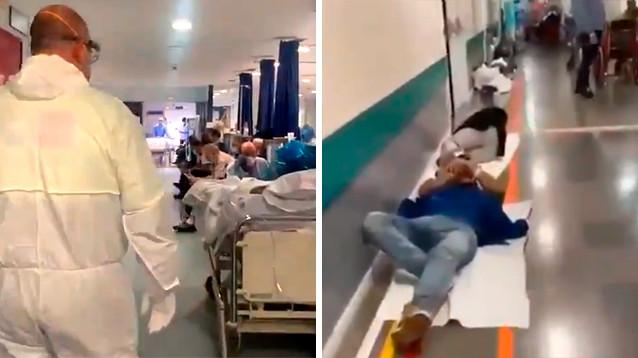 """В Испании ситуация с коронавирусом хуже, чем в Италии: больных стариков уже """"вычеркнули"""" (ВИДЕО)"""