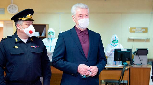 Собянин надеется избежать введения войск в Москву, несмотря на сложную ситуацию с коронавирусом