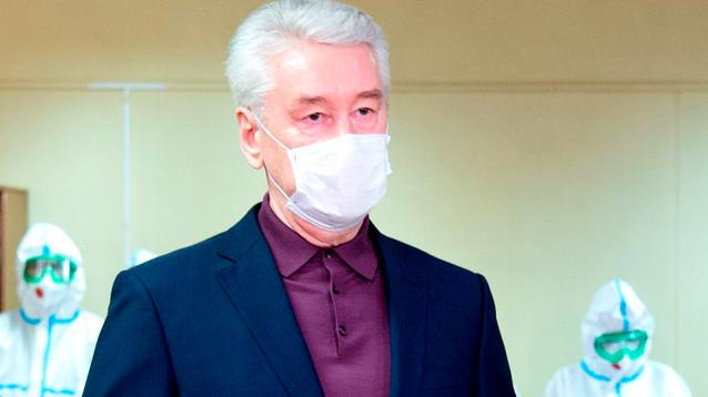 Собянин оценил реальное число заболевших в Москве в 2% - это больше 250 тысяч человек